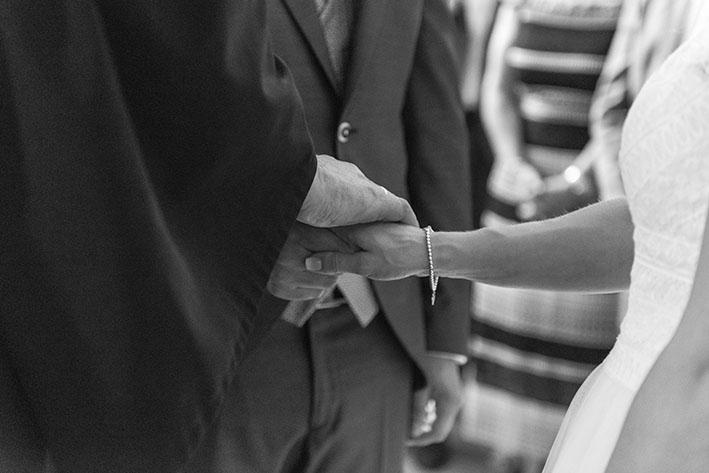 Hochzeitsaufnahme